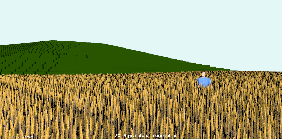 Rituals of the old player wheat fields test render