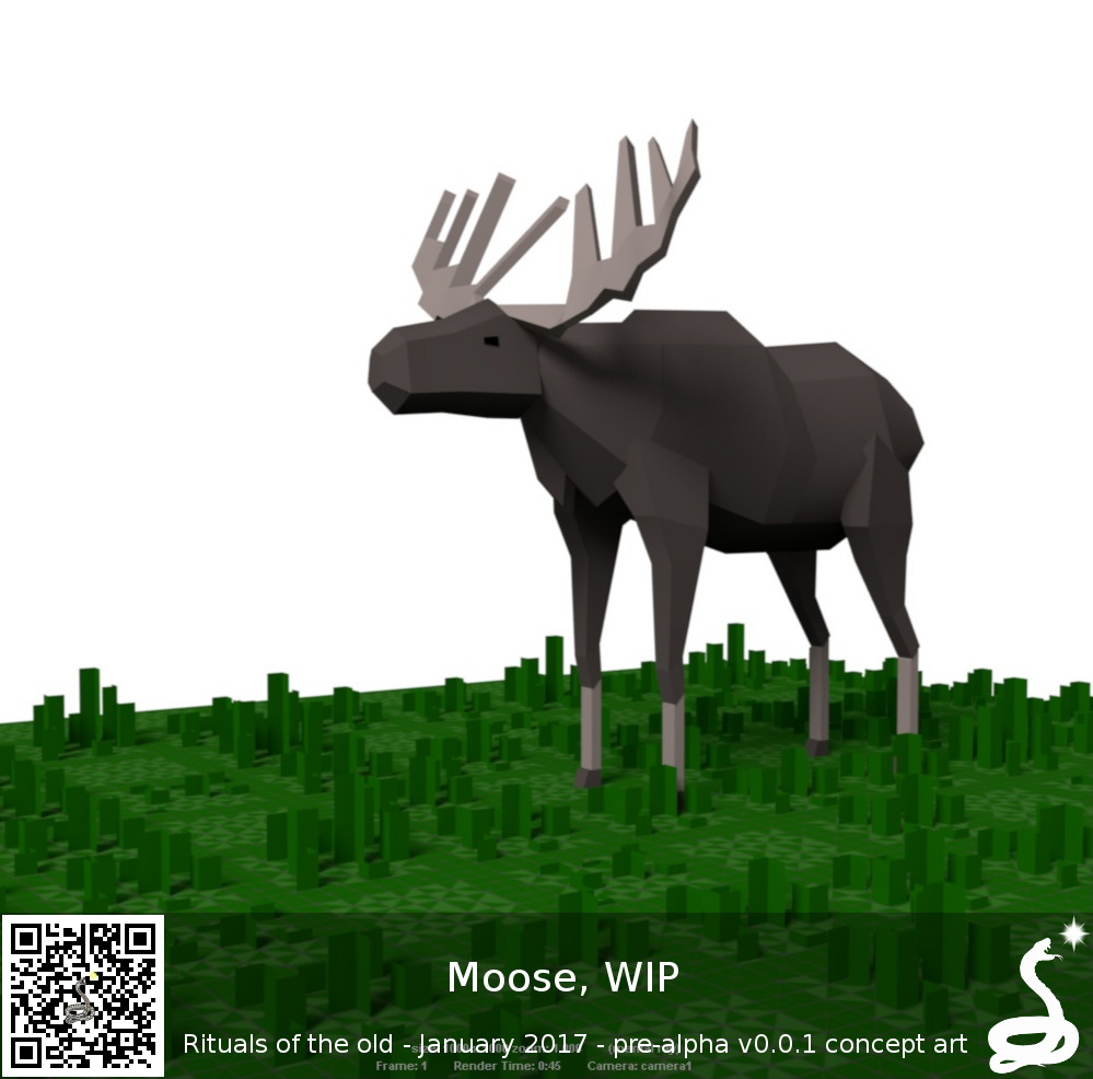 Rituals of the old moose WIP mockup