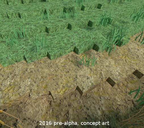 Rituals of the old terrain texture test